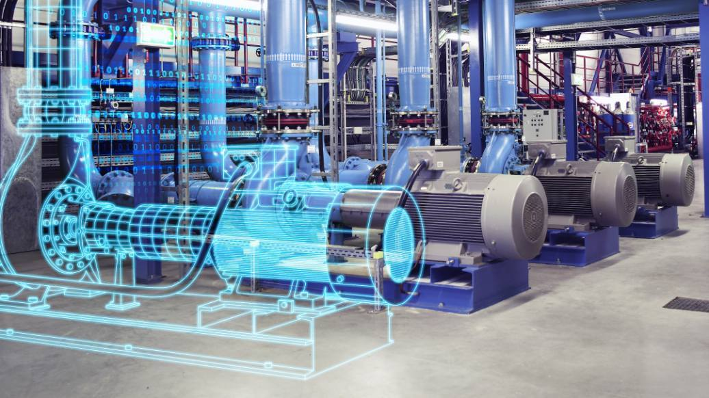 Digital twin o gemelo digital en una planta industrial
