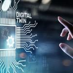 Imagen conceptual de digital twin o gemelo digital